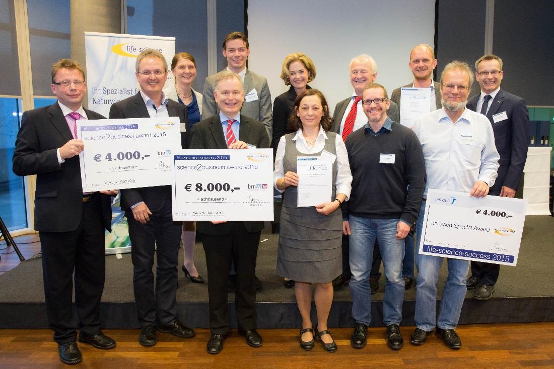 Science Award winners